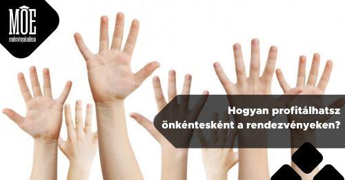 Hogyan profitálhatsz önkéntesként a rendezvényeken?