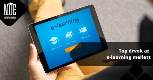 TOP érvek az e-learning mellett