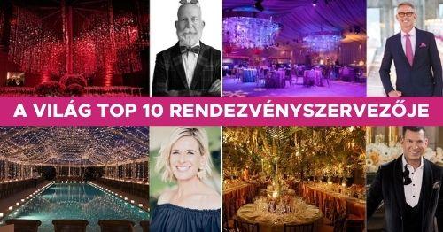 világ top 10 rendezvényszervezője